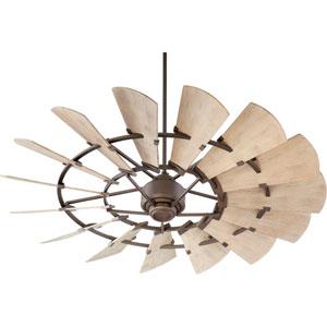 Windmill Oiled Bronze 60-Inch Damp Ceiling Fan
