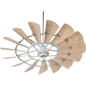 Windmill Galvanized 60-Inch Damp Ceiling Fan