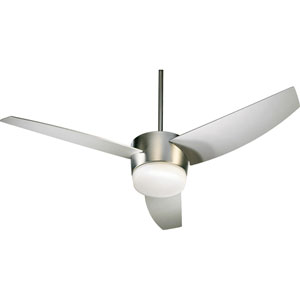 Trimark Two-Light Satin Nickel 54-Inch Ceiling Fan