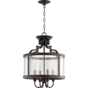 Champlain Vintage Copper Four-Light Pendant