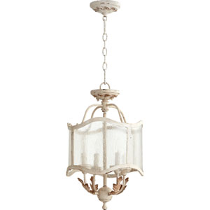 Salento Persian White 13-Inch Four-Light Convertible Pendant