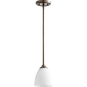 Jardin Oiled Bronze One-Light 5.5-Inch Mini Pendant