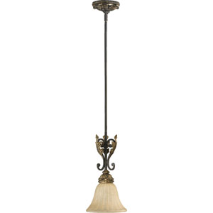 Rio Salado One-Light Toasted Sienna with Mystic Silver Mini Pendant