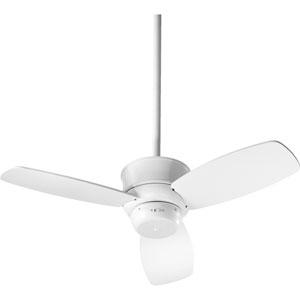 Gusto Studio White 32-Inch Three Blade Ceiling Fan