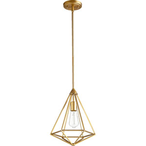 Bennett Aged Brass One-Light Pendant