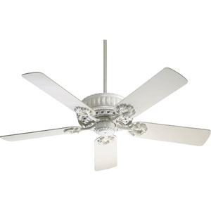 Empress Studio White Energy Star 52-Inch Ceiling Fan