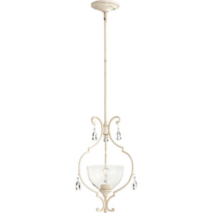 Ansley Persian White One-Light 19-Inch Pendant