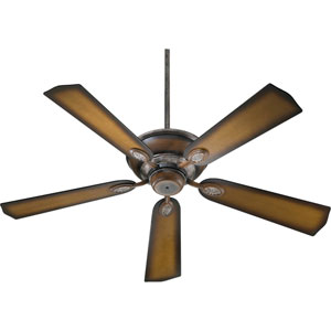 Kingsley Mystic Silver with Pecan Energy Star 52-Inch Ceiling Fan