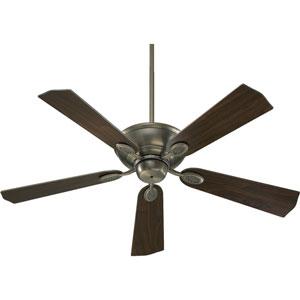 Kingsley Antique Silver Energy Star 52-Inch Ceiling Fan