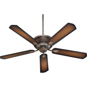 Kingsley Mystic Silver with Pecan 60-Inch Ceiling Fan