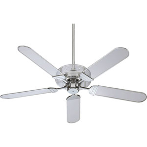 Prizzm Chrome 52-Inch Ceiling Fan