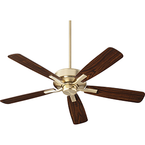 Villa Aged Brass  52-Inch Ceiling Fan