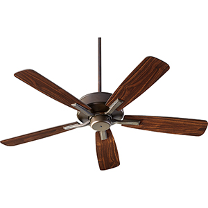 Villa Oiled Bronze  52-Inch Ceiling Fan