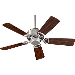 Estate Satin Nickel 42-Inch Ceiling Fan