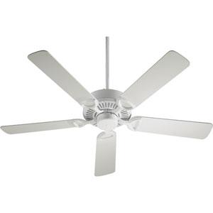 Estate Studio White Energy Star 52-Inch Ceiling Fan