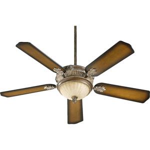 Galloway Three-Light Mystic Silver 52-Inch Ceiling Fan