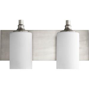 Celeste Satin Nickel Two-Light 17-Inch Vanity