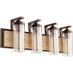 Julian Oiled Bronze 29-Inch Four-Light Vanity