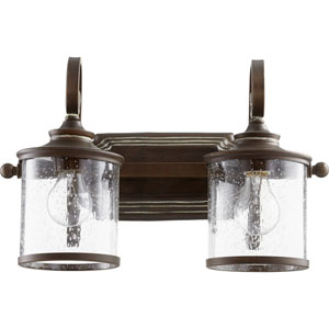 San Miguel Vintage Copper Two-Light Bath Vanity
