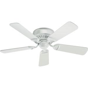 Medallion White 42-Inch Ceiling Fan