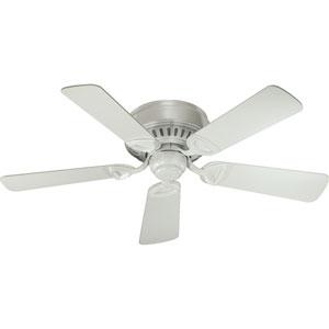 Medallion Studio White 42-Inch Ceiling Fan