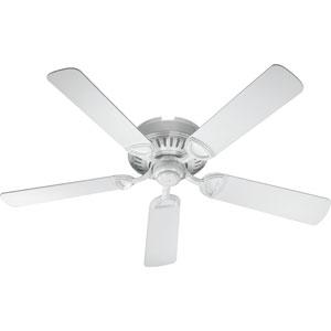 Medallion White 52-Inch Ceiling Fan