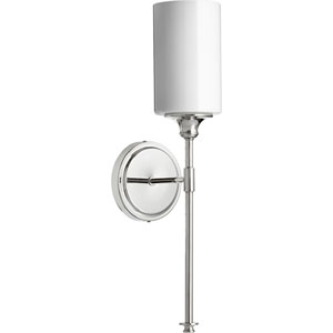 Celeste Polished Nickel One-Light 5-Inch Wall Mount