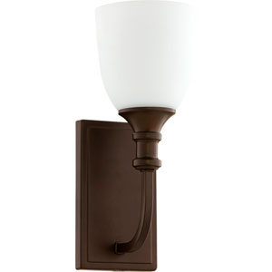 Richmond Oiled Bronze One-Light 5-Inch Wall Mount