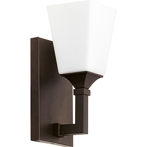 Wright Oiled Bronze One-Light 5-Inch Wall Sconce