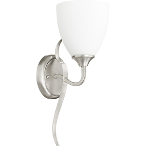 Jardin Satin Nickel One-Light 5.75-Inch Wall Sconce