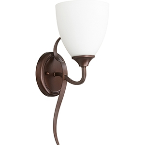 Jardin Oiled Bronze One-Light 5.75-Inch Wall Sconce