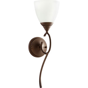 Flora Oiled Bronze One-Light 6-Inch Wall Mount