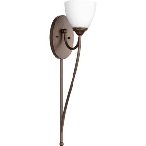 Brooks Oiled Bronze 5.5-Inch One-Light Bath Sconce