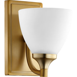 Enclave Aged Brass One-Light 6-Inch Wall Mount