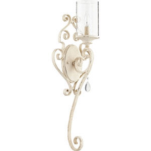 San Miguel Persian White One-Light Wall Sconce