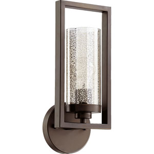 Julian Oiled Bronze 6-Inch One-Light Bath Sconce