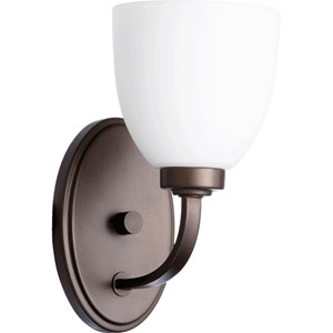 Reyes Oiled Bronze 10.25-Inch Wide One Light Wall Mounted Fixture