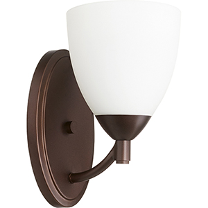 Barkley Oiled Bronze One-Light 5.75-Inch Wall Sconce