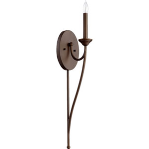 Brooks Oiled Bronze 5.5-Inch One-Light Wall Sconce