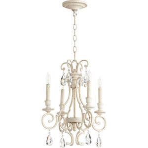 Ansley Persian White Four-Light 16-Inch Chandelier