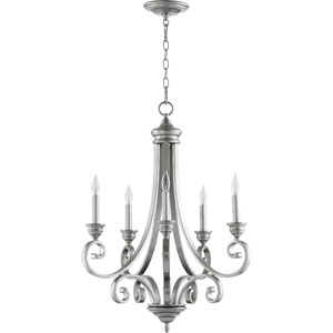 Bryant Classic Nickel Five-Light Chandelier