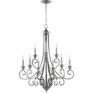 Bryant Classic Nickel Nine-Light Chandelier