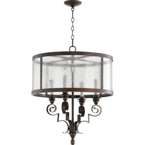 Champlain Vintage Copper Four-Light Chandelier