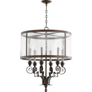 Champlain Vintage Copper Six-Light Chandelier