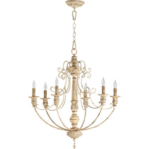 Salento Persian White Six-Light Chandelier