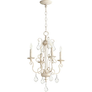 Ariel Persian White Four-Light 16-Inch Chandelier