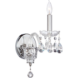 Bohemian Katerina One-Light Chrome Sconce