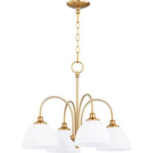 Celeste Aged Brass Four-Light 22-Inch Chandelier