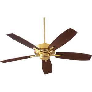 Soho Aged Brass 52-Inch Ceiling Fan