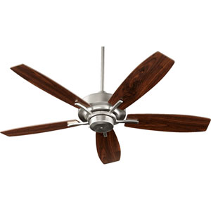 Soho Satin Nickel 52-Inch Ceiling Fan